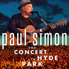 PAUL SIMON THE CONCERT IN HYDE PARK 2 CD/ DVD - Released July 14 2017
