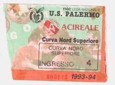 54229 Biglietto stadio - Palermo Acireale - 1993/1994