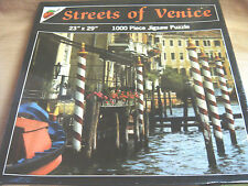 """NEW """"Streets of Venice"""" 1000 Pc JIGSAW PUZZLE 23"""" x 29"""" by AppleStreet"""