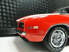 1969 Camaro Chevrolet Z28 RS Franklin Mint Car 1 24 Carousel Orange Model 18