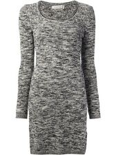 ISABEL MARANT ÉTOILE Gray Elsa Sweater Dress Size FR 38 / US 4