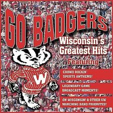 Go Badgers: On Wisconsin's Greatest Hits Various Artists CD Sports Anthems