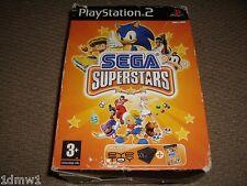 SEGA SUPERSTARS + USB EYETOY CAMERA BOX SET for SONY PLAYSTATION 2 PS2 Sonic
