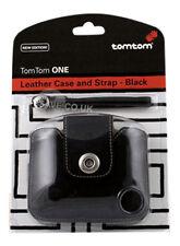 Original TomTom ONE Version 2 V2 V3 V4 Leather Case UK