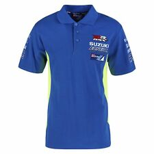 Official Ecstar Suzuki Motogp Team Man's Polo Shirt - 990F0 M7PSM