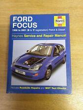 FORD FOCUS MK1 1998-2001 HAYNES WORKSHOP MANUAL 3759 IN A UNUSED COND & FREE P&P