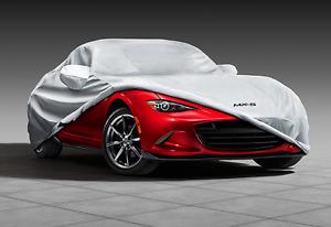 Genuine Mazda MX-5 Car Cover All Weather 0000-8J-D04 (2016-2020 Mazda MX-5)