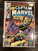 Captain Marvel 56 At Deathgrip's Command! High Grade Comic Book A6-216