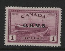 Canada #O10 mint orignal gum never hinged XF