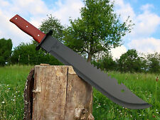 Massive Machete 51 cm Black Huntingknife Machette Bowie Coltello Couteau M017 OT