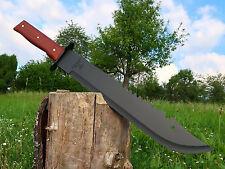 Massive Machete 51 cm Black Huntingknife Machette Bowie Coltello Couteau M017 OT