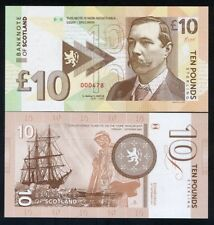 Scotland , 10 pounds Sir Arthur Conan Doyle 2017, Private Issue, Sherlock Holmes
