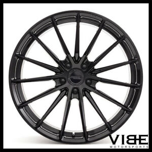 "20"" MRR FS02 BLACK FORGED CONCAVE WHEELS RIMS FITS BMW E39 525i 528i 530 540"
