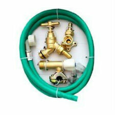 Professional Through Wall Brass Outside Garden Tap Kit meets Water Regulations