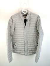 Scotch and Soda My Favorite Quilted Jacket Heather Gray Puffer Sz L