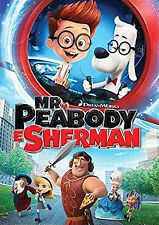 Mr Peabody & Sherman (Dvd) Dreamworks Animation, Adventure, Comedy Family Movie