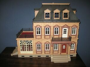 PLAYMOBIL VINTAGE 5300 LARGE VICTORIAN MANSION DOLLHOUSE - VERY NICE - SEE NOTE