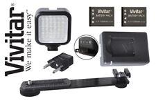 LED Light Kit With Power Pack For Nikon 1 V3 AW1 J5 D7500 D500