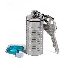 Cielo Pill Holders - Stainless Keychain Pill Fob Nitro Bottle Holder - Made i...