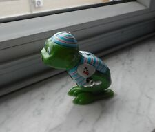 VINTAGE TIN FROG WIND UP MADE IN JAPAN YONE TOY