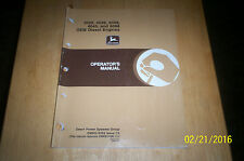 John Deere 3029, 4039, 6059, 4045, and 6068 OEM Diesel Engines Operator's Manual