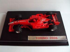 Ferrari F2005 presentazione olimpiadi invernali 2006 Torino 1:43 Hot Wheels