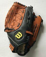 "Wilson Pro Select Dual Hinge Web RHT 12.5"" Leather Baseball Glove A2476"
