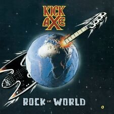 KICK AXE - ROCK THE WORLD (LIM.COLLECTORS EDITION)   CD NEUF