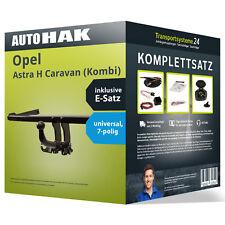 Anhängerkupplung abnehmbar OPEL Astra H Caravan (Kombi) +ESatz NEU inkl. EBA PKW