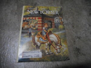 APRIL 11 1994 NEW YORKER vintage magazine - MERRY GO ROUND COME TO LIFE