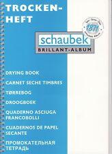 Schaubek  Trockenheft Trockenbuch  für abgelöste Briefmarken   TH4204