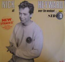 """Nick Heyward All Over the Weekend - UK 12"""""""