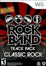 ROCK BAND TRACK PACK: CLASSIC ROCK - NINTENDO WII GAME