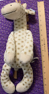 """NWt Large Little JellyCat Georgie Giraffe 16"""" with Tags - Cream Spots -Retired"""
