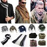 Mens Women Military Arab Tactical Army Shemagh KeffIyeh Scarf Neck Wrap Shawl