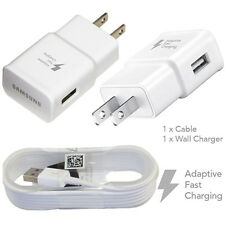 OEM Samsung Adaptive Rapid Fast Charger Charging For Galaxy S7 S6 Edge+ Note 5 4