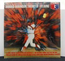 "BROOKS ROBINSON ""Theory Of Fielding"" Vinyl Record LP still SEALED"