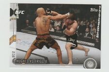 HUGHES VS TRIGG  II UFC 2015 Topps Chronicles#23