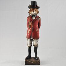 FOX DAPPER ANIMALS UNIQUE ORNAMENT FIGURE NEW & BOXED 26cm