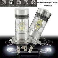 2 PCS LED Ampoules Voiture Brouillard 100W 6000K CREE Blanc Haute Puissance G