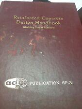 Book Reinforced Concrete Design Handbook 1965