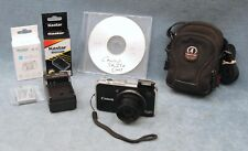 CANON POWERSHOT 12.1MP SX230 HS DIGITAL CAMERA W/CASE, IB, NEW BATTERY & CHARGER