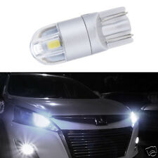 Auto Car Super Bright Amber Silver Round Dome Lens LED Bulb Leading Light T10