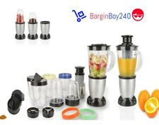 21PC Blender Juice Smoothie Fruit Veg Juicer Maker Ice Crusher 350W BRAND NEW
