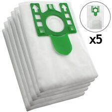 5 x U Type Hyclean Vacuum Cleaner Bags For MIELE Hoover Dust Bag S7000 + Filters