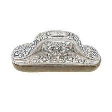 Vintage Tiffany & Co Sterling Silver Nail Buffer Lion Head Vanity