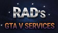 GTA V Modded Accounts XBOX 360 (Cash, Rank, Cars, Unlocks!)