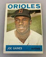 1964 Topps # 364 Joe Gaines Baseball Card Baltimore Orioles