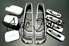 For 2001 - 2007 Nissan X-Trail ABS Chrome Accessory ABS Molding Trim Kit Set