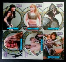 X1-X6 Foil (6 cards) Xena Warrior Princess Series I Season 1 One trading card